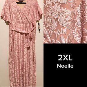 LuLaRoe 2XL Elegant Noelle Dress BNWT